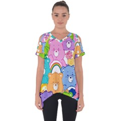 Care Bears Cut Out Side Drop Tee