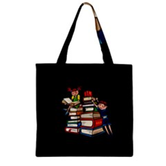 Back To School Zipper Grocery Tote Bag