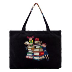 Back To School Medium Tote Bag by Valentinaart