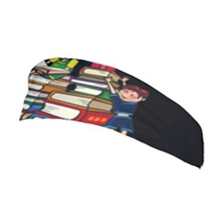 Back To School Stretchable Headband by Valentinaart