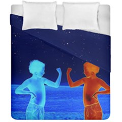 Space Boys  Duvet Cover Double Side (california King Size) by Valentinaart