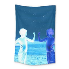 Space Boys  Small Tapestry
