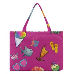 Aloha   Summer Fun 1 Medium Tote Bag by MoreColorsinLife