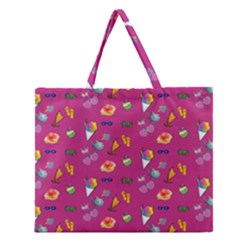 Aloha   Summer Fun 1b Zipper Large Tote Bag by MoreColorsinLife