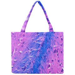 The Luxol Fast Blue Myelin Stain Mini Tote Bag by Mariart