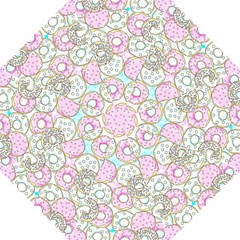 Donuts Pattern Folding Umbrellas by ValentinaDesign