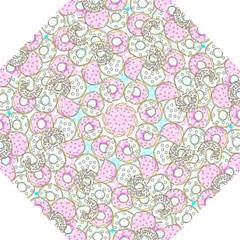 Donuts Pattern Straight Umbrellas by ValentinaDesign