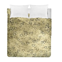 Heart Pattern Duvet Cover Double Side (full/ Double Size) by ValentinaDesign