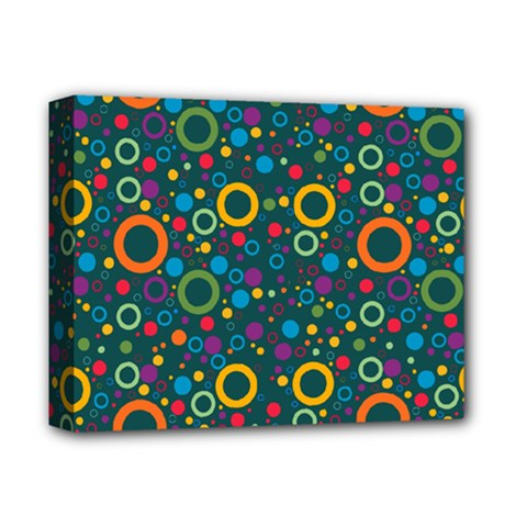 70s Pattern Deluxe Canvas 14  X 11  by ValentinaDesign