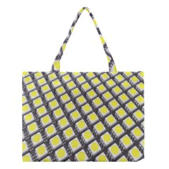 Wafer Size Figure Medium Tote Bag by Mariart
