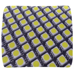 Wafer Size Figure Back Support Cushion
