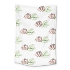 Pinecone Pattern Small Tapestry by Mariart