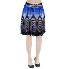 Illustration Robot Wave Pleated Skirt by Mariart