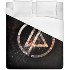 Linkin Park Logo Band Rock Duvet Cover (california King Size) by Zhezhe