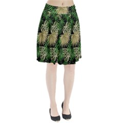 Tropical Pattern Pleated Skirt by ValentinaDesign