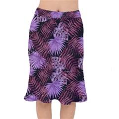 Tropical Pattern Mermaid Skirt by ValentinaDesign