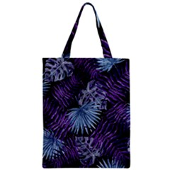 Tropical Pattern Zipper Classic Tote Bag by ValentinaDesign