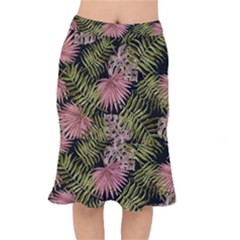 Tropical Pattern Mermaid Skirt by ValentinaDesign