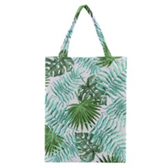 Tropical Pattern Classic Tote Bag by ValentinaDesign