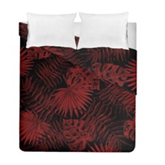 Tropical Pattern Duvet Cover Double Side (full/ Double Size)