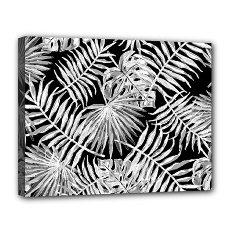 Tropical Pattern Canvas 14  X 11  by ValentinaDesign
