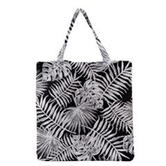Tropical Pattern Grocery Tote Bag by ValentinaDesign