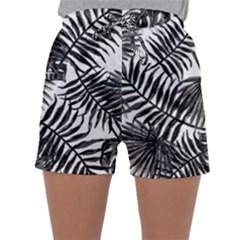 Tropical Pattern Sleepwear Shorts
