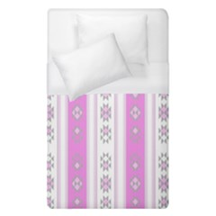 Folklore Pattern Duvet Cover (single Size) by ValentinaDesign