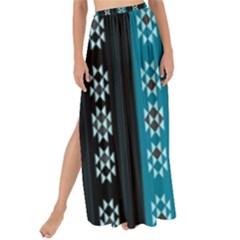 Folklore Pattern Maxi Chiffon Tie Up Sarong