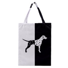 Dalmatian Dog Classic Tote Bag by Valentinaart