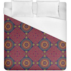 Oriental Pattern Duvet Cover (king Size) by ValentinaDesign