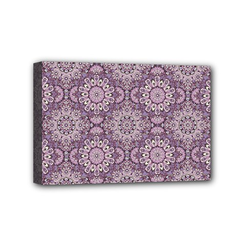 Oriental Pattern Mini Canvas 6  X 4  by ValentinaDesign