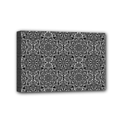 Oriental Pattern Mini Canvas 6  X 4  by ValentinaDesign
