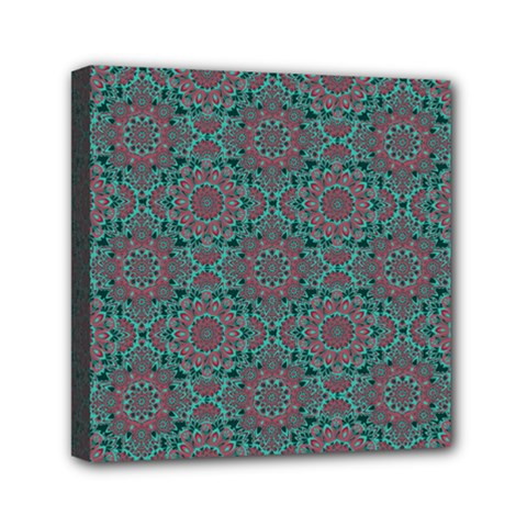 Oriental Pattern Mini Canvas 6  X 6  by ValentinaDesign