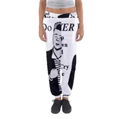 Rick Astley Women s Jogger Sweatpants by Powwow