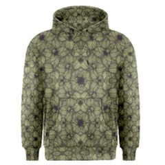 Stylized Modern Floral Design Men s Pullover Hoodie by dflcprints