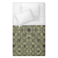 Stylized Modern Floral Design Duvet Cover (single Size) by dflcprints
