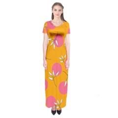 Playful Mood Ii Short Sleeve Maxi Dress