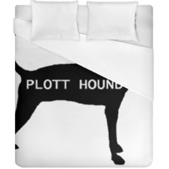 Plott Hound Name Silo Duvet Cover (california King Size) by TailWags