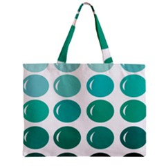 Bubbel Balloon Shades Teal Zipper Mini Tote Bag by Mariart