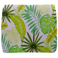 Amazon Forest Natural Green Yellow Leaf Back Support Cushion