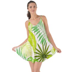 Amazon Forest Natural Green Yellow Leaf Love The Sun Cover Up