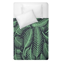 Coconut Leaves Summer Green Duvet Cover Double Side (single Size) by Mariart