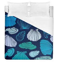 Mega Menu Seashells Duvet Cover (queen Size) by Mariart