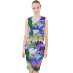Color Mix Canvas                             Midi Bodycon Dress