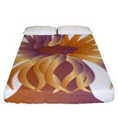 Sea Anemone Fitted Sheet (king Size) by Mariart