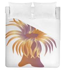 Sea Anemone Duvet Cover (queen Size) by Mariart
