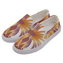 Sea Anemone Men s Canvas Slip Ons by Mariart