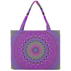 Art Mandala Design Ornament Flower Mini Tote Bag