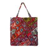 Carpet Orient Pattern Grocery Tote Bag